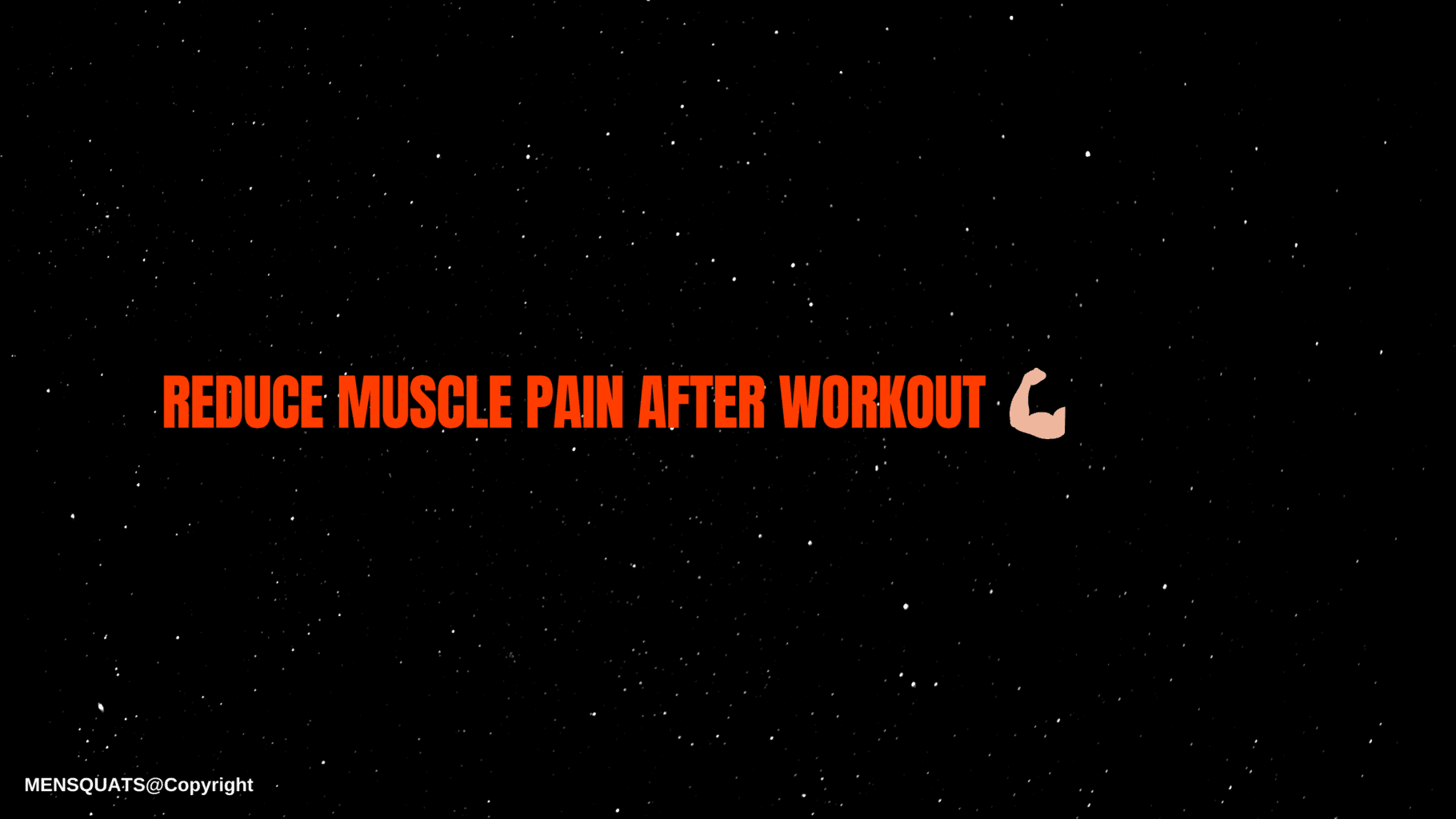 how to reduce muscle pain after workout