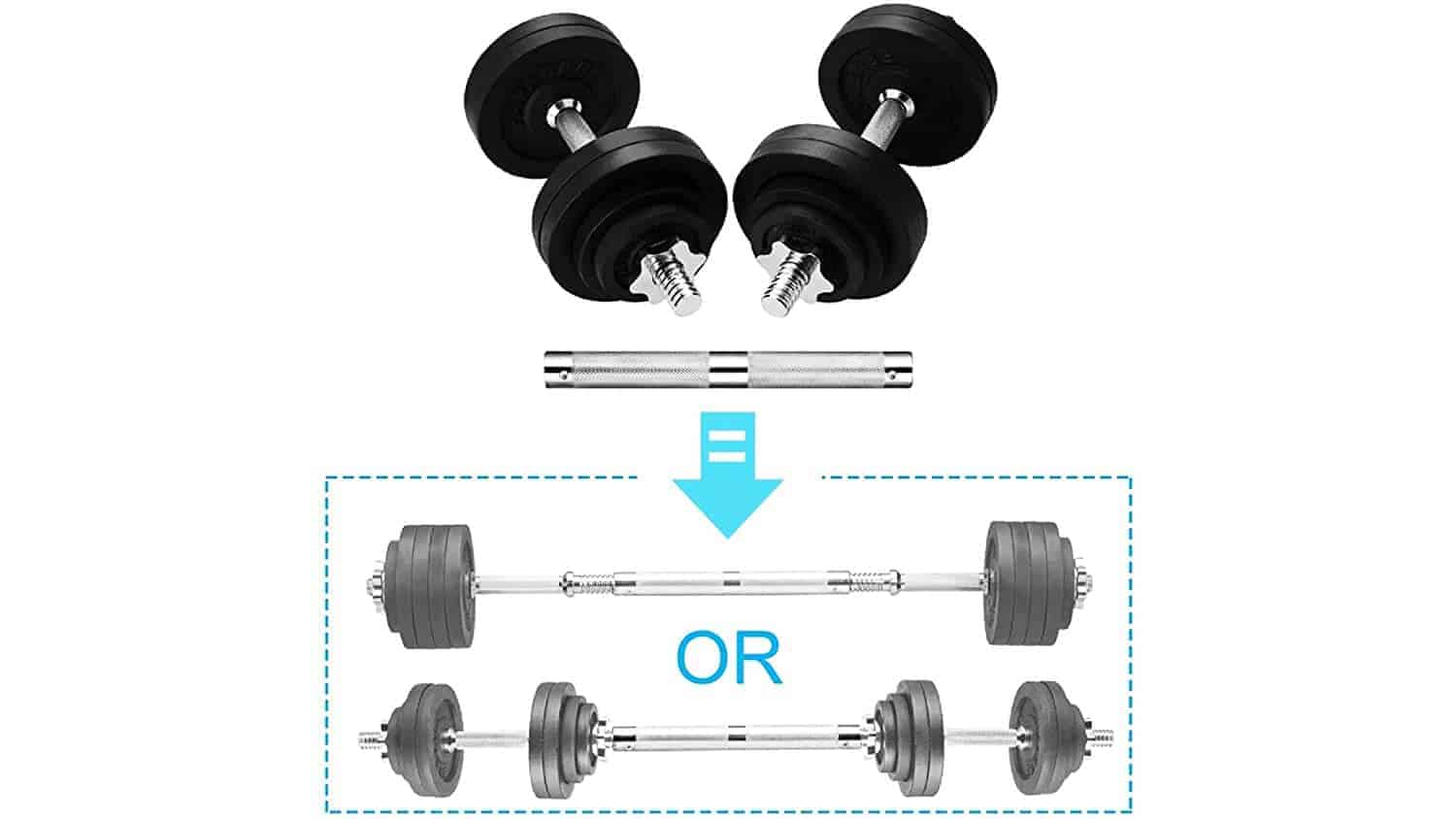 KAKSS-Exclusive-Adjustable-Dumbbells-with-2-in-1-Connector-20KG-to-50KG-Proudly-Made-in-India