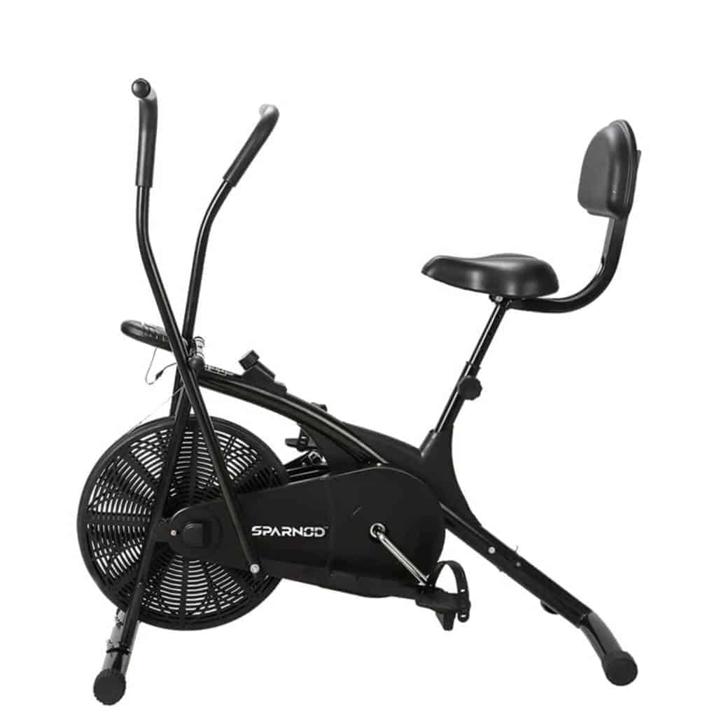 Sparnod Fitness SAB 05 Air Bike Exercise Cycle for Home Gym